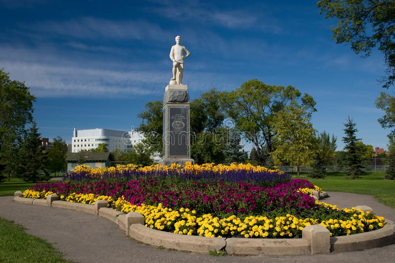 Sergent Hugh Cairns Memorial Statue photographie stock