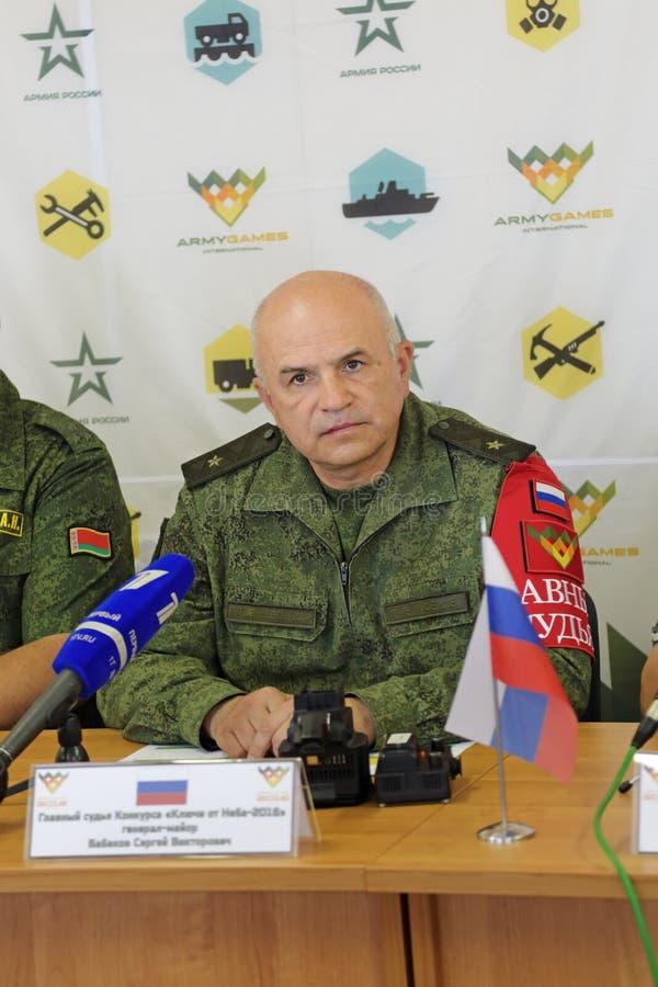 Sergey Babakov royalty-vrije stock foto's