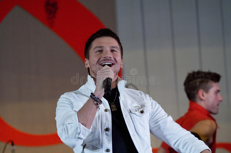 Sergey Lazarev Editorial Stock Photo
