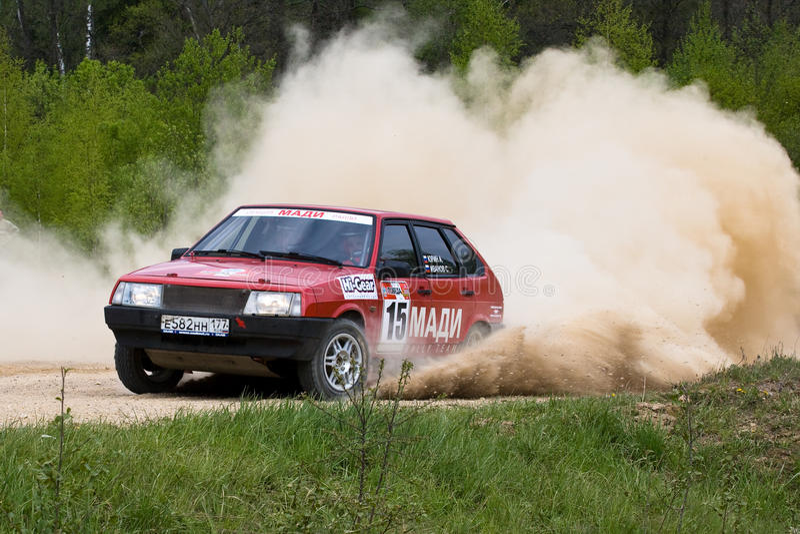 Sergey Petrov on Lada