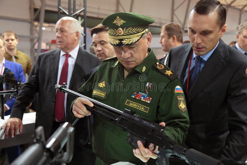 Sergey Shoygu стоковые фото