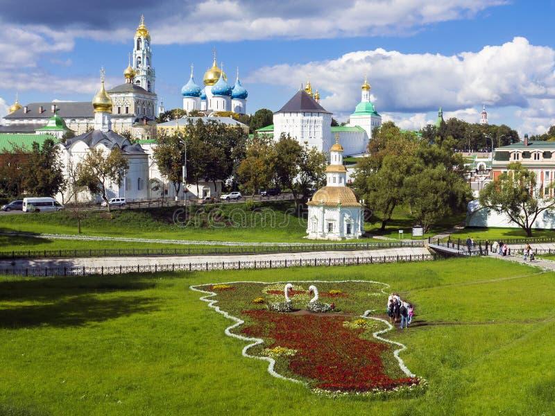 Sergiev Posad,俄罗斯(联合国科教文组织世界遗产名录) 免版税库存图片