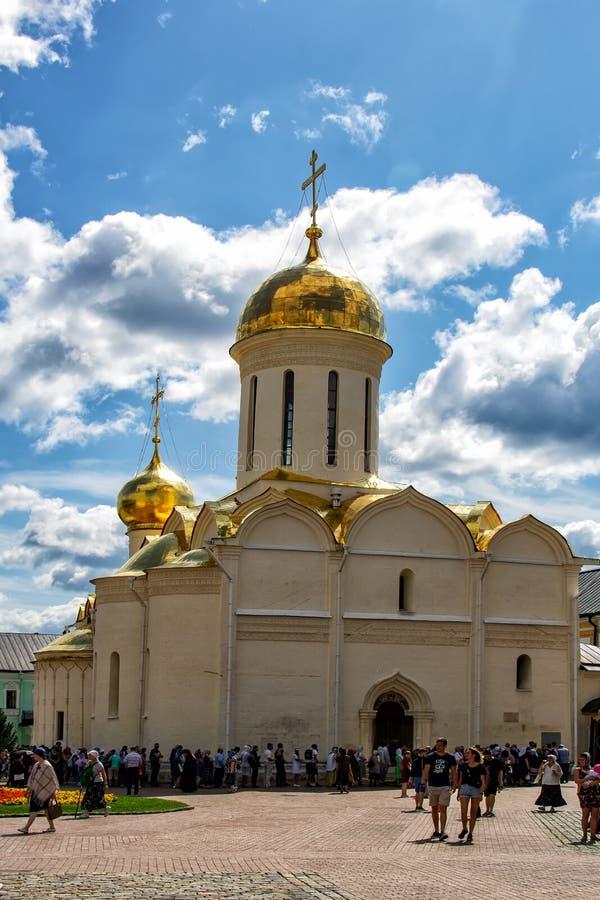 SERGIEV POSAD, RUSIA - 27 de julio de 2019: El Trinidad-St santo Sergius Lavra, Sergiev Posad, Rusia foto de archivo