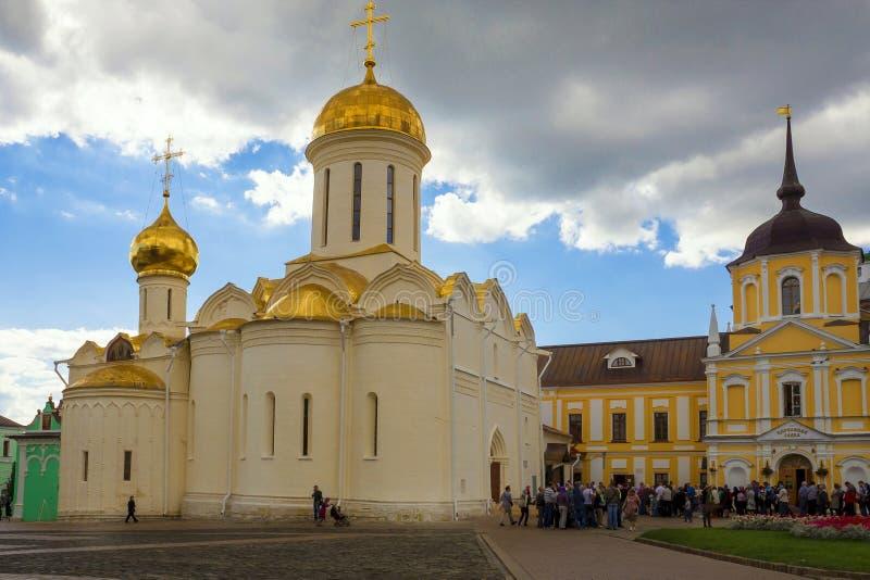 Sergiev Posada, Rosja (UNESCO światowe dziedzictwo) fotografia royalty free