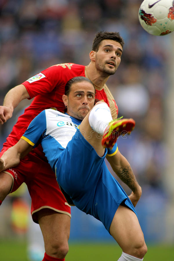 Sergio Garcia d'Espanyol image libre de droits