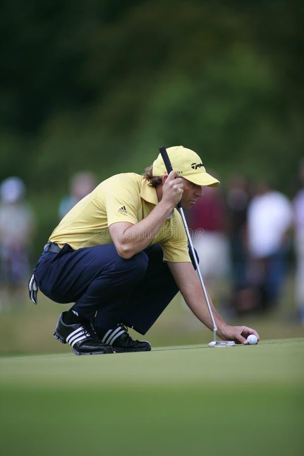 Sergio Garcia PGA European Tour European Open royalty free stock photo