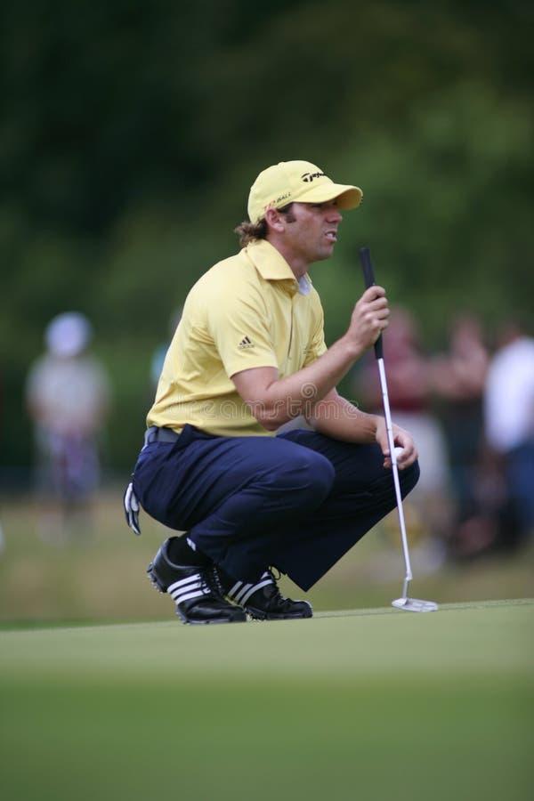 Sergio Garcia PGA European Tour European Open royalty free stock photos