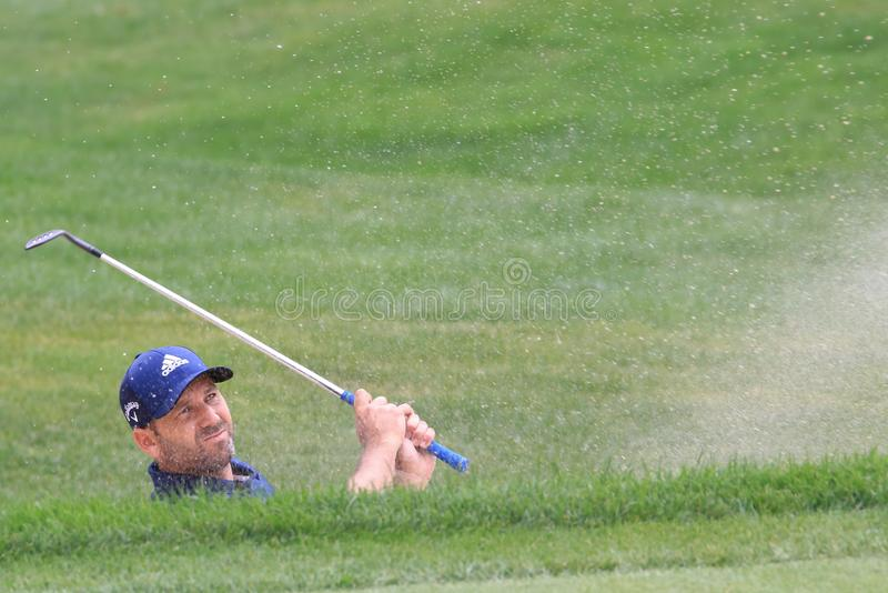 Sergio Garcia PGA Pro golfista zdjęcia royalty free