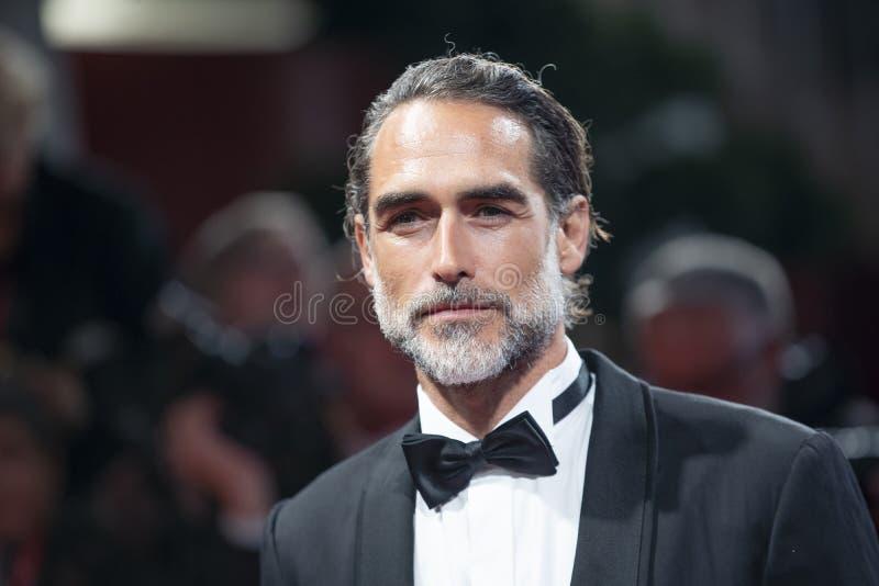 Sergio Muniz walks the red carpet stock image