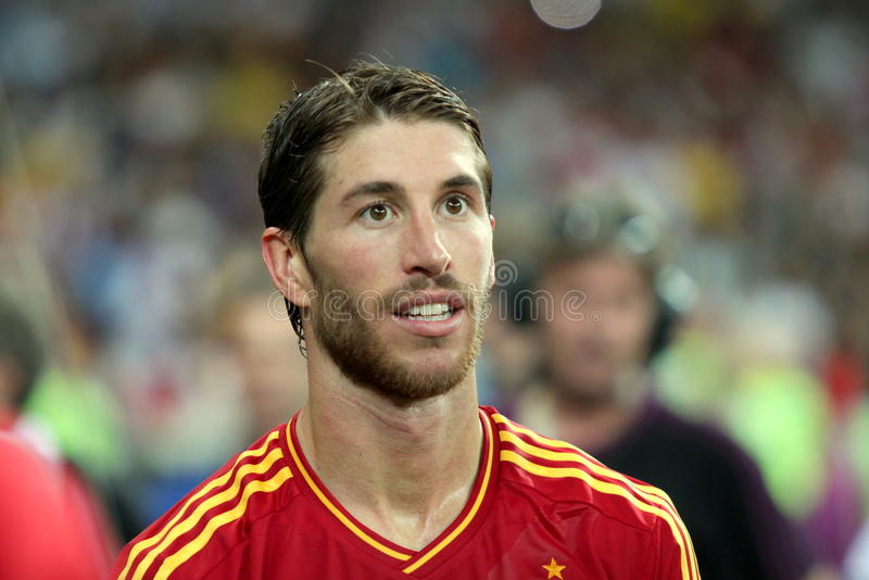 Sergio Ramos imagenes de archivo