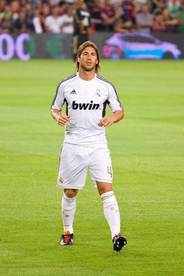 Sergio Ramos de Real Madrid photos libres de droits