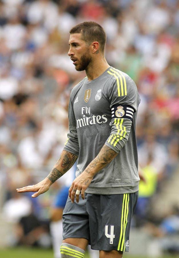 Sergio Ramos de Real Madrid photographie stock