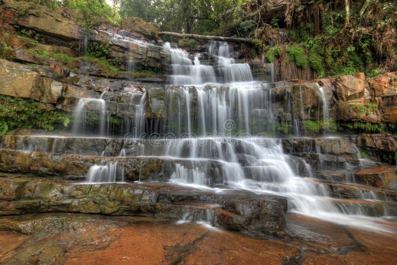 Seri Mahkota Endau Rompin Pahang vattenfall royaltyfri foto