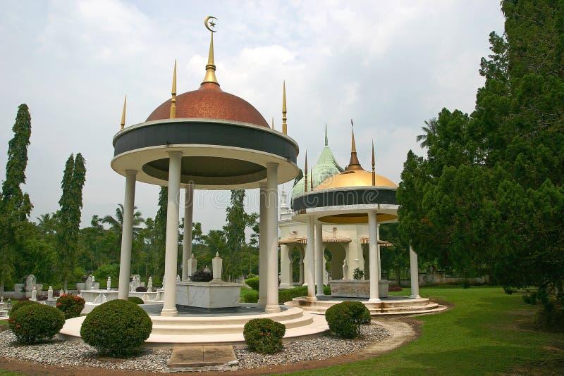 Seri Menanti Royal Mausoleum fotografering för bildbyråer