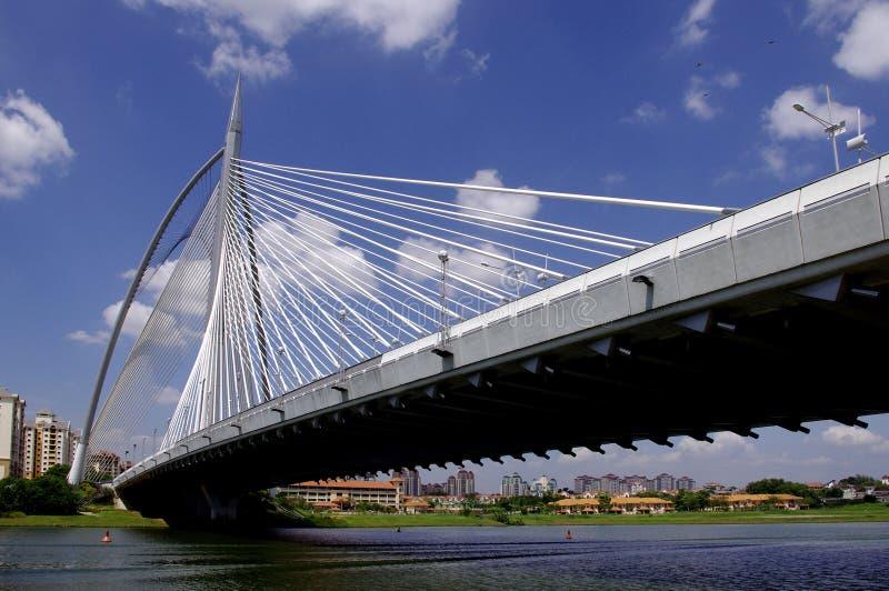Seri Wawasan Brücke stockfotografie