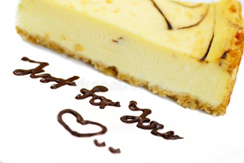 Serie 01 del pastel de queso imagenes de archivo