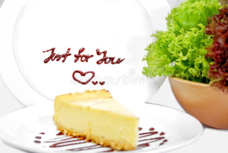 Serie 01 del pastel de queso foto de archivo
