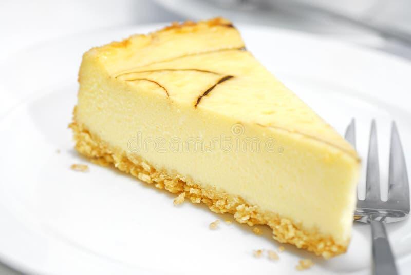 Serie 02 del pastel de queso foto de archivo