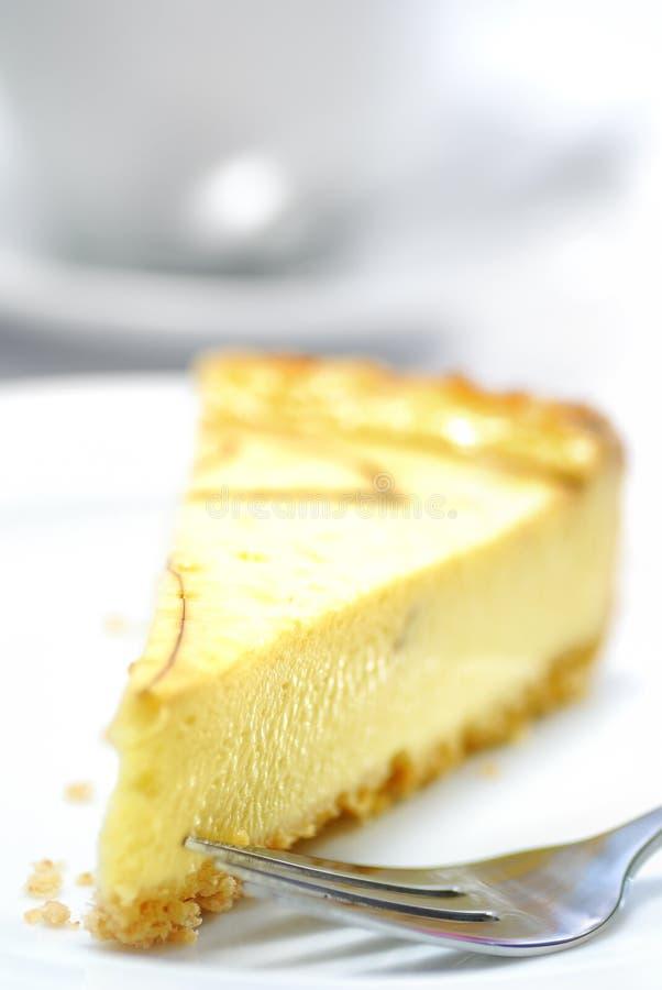 Serie 02 del pastel de queso imagenes de archivo
