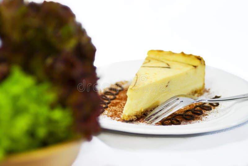 Serie 03 del pastel de queso foto de archivo libre de regalías