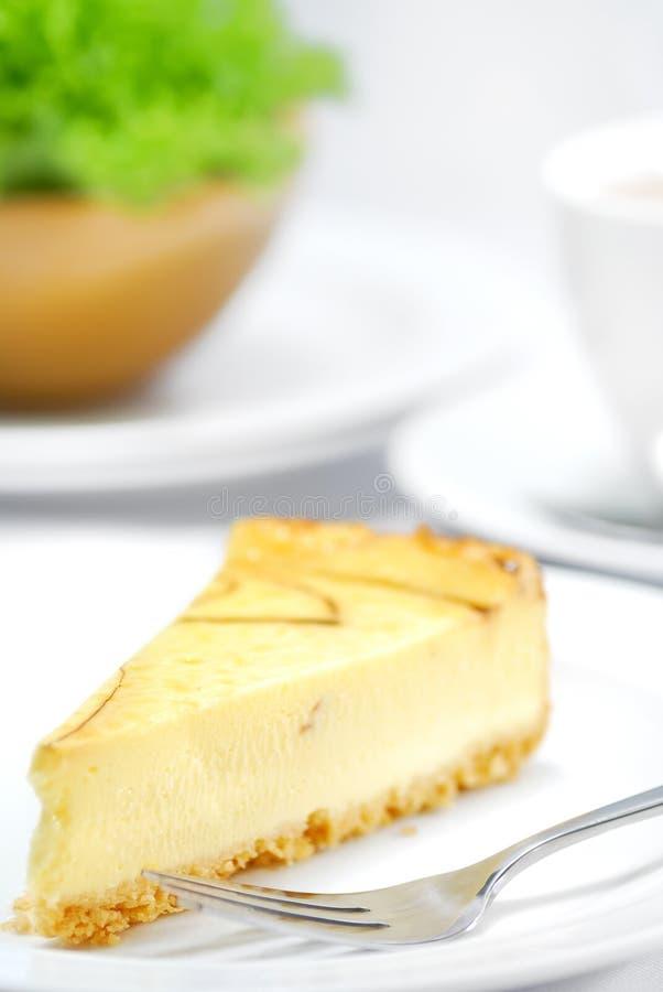 Serie 03 del pastel de queso foto de archivo