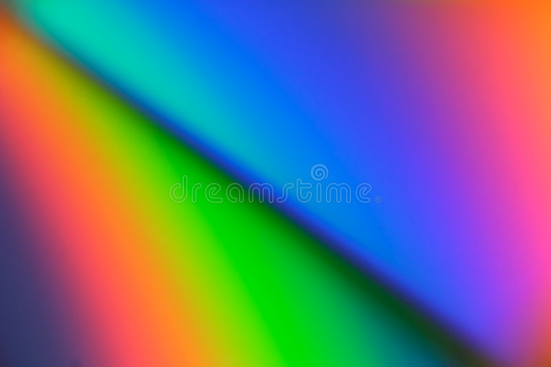 Serie #1 del arco iris stock de ilustración
