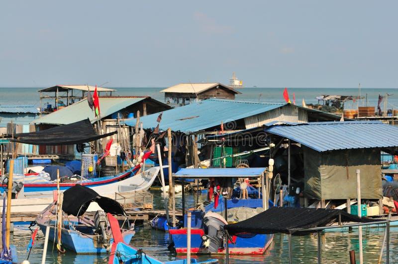 Serie 2 del paesino di pescatori fotografia stock libera da diritti