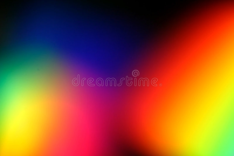 Serie #3 del Rainbow illustrazione di stock