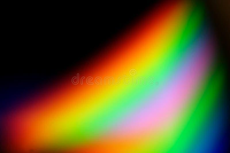 Serie #4 del arco iris ilustración del vector