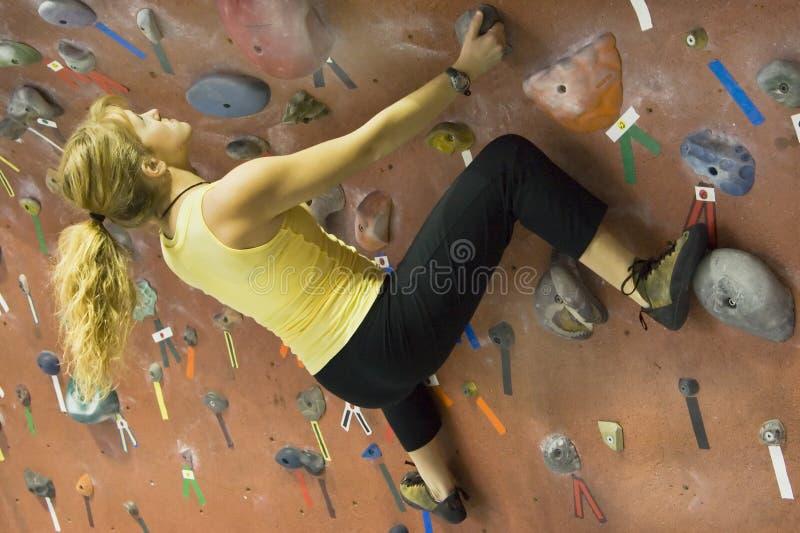 Serie A 40 di scalata di roccia di Khole fotografie stock libere da diritti