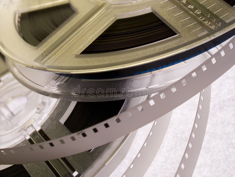 Serie 5 de bobine de film photo libre de droits