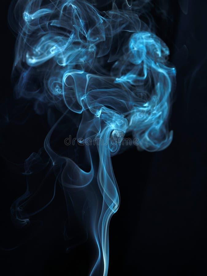 Serie abstracta 07 del humo fotografía de archivo libre de regalías
