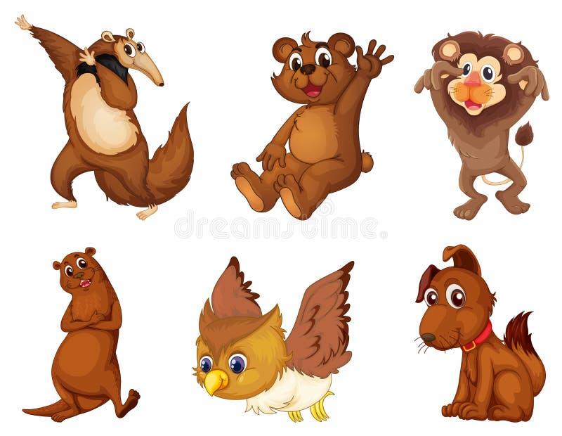Serie animale royalty illustrazione gratis