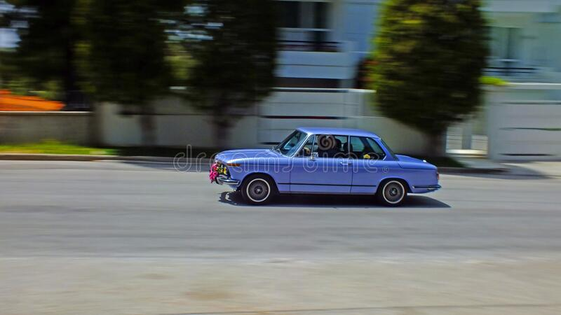 SERIE BMW -02 PANNING fotografie stock