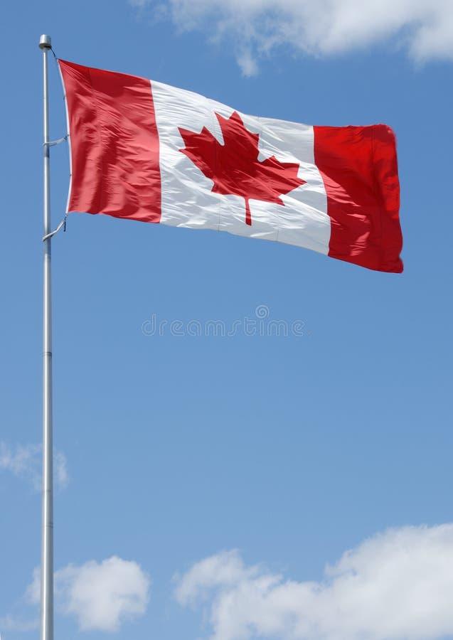 Serie canadese della bandierina fotografia stock
