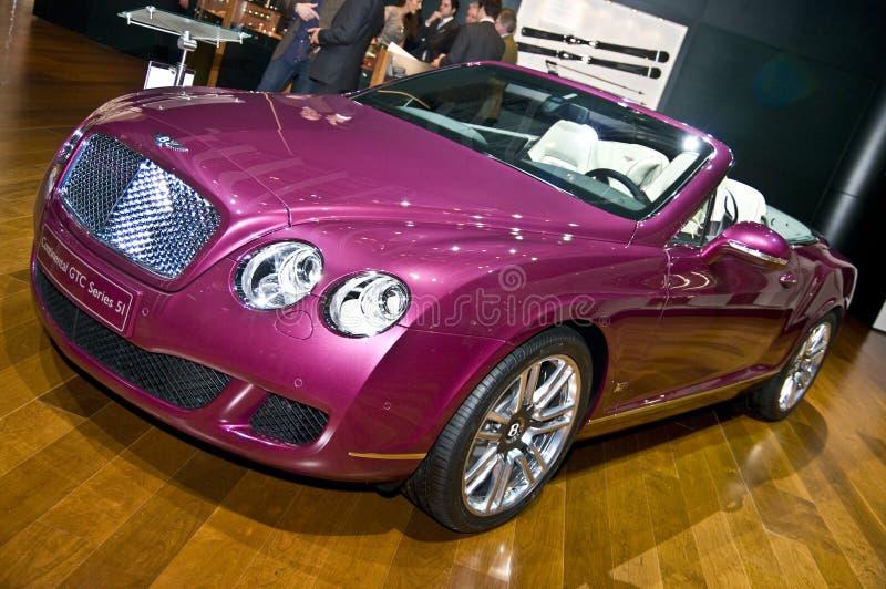Serie continental 51 de Bentley GTC imágenes de archivo libres de regalías