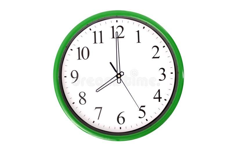 Serie d'horloge - 8 heures photo libre de droits