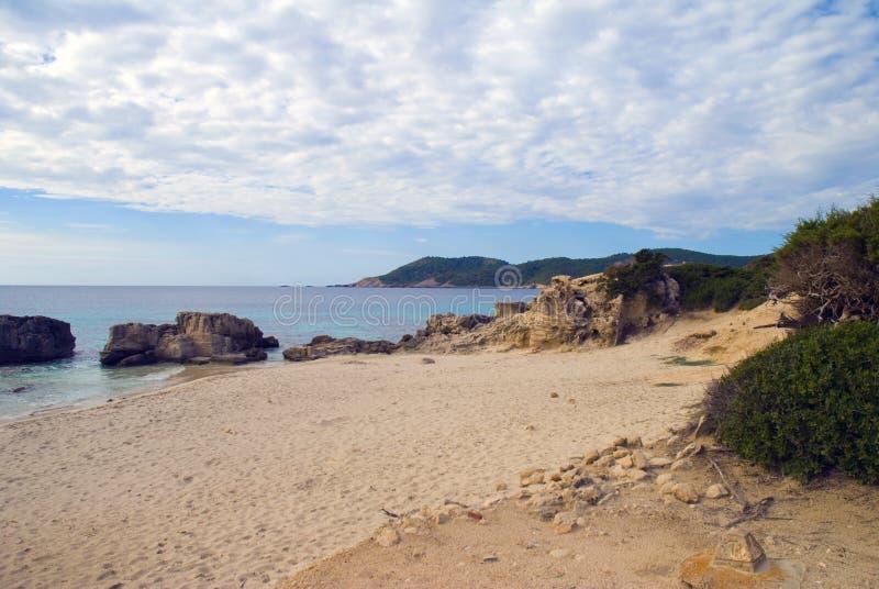 Serie d'Ibiza images libres de droits