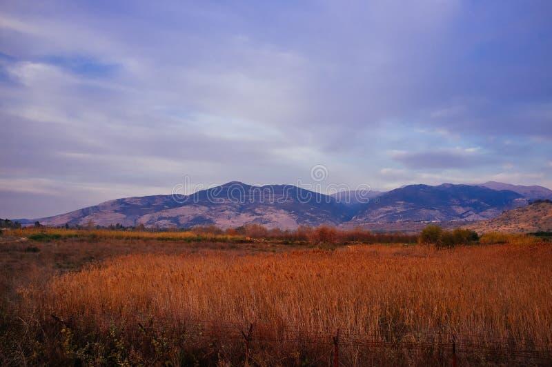 Serie de Holyland - el monte Hermón fotografía de archivo