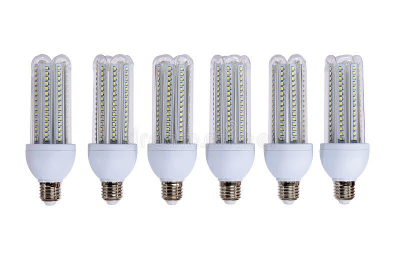 Serie de lámparas de la nueva generación LED fotos de archivo libres de regalías