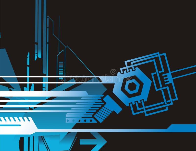 Serie de la formación técnica ilustración del vector