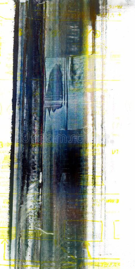 Serie de la textura de la pintura de los polvos libre illustration