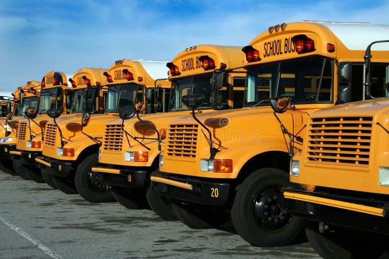 Serie del autobús escolar - 4 imagenes de archivo