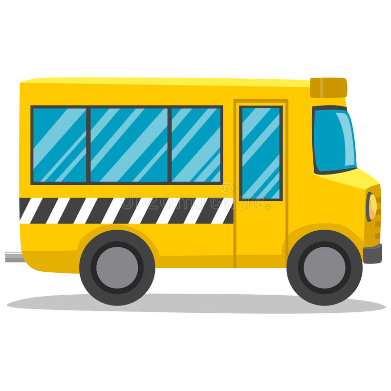 Serie del autobús escolar - 1 stock de ilustración