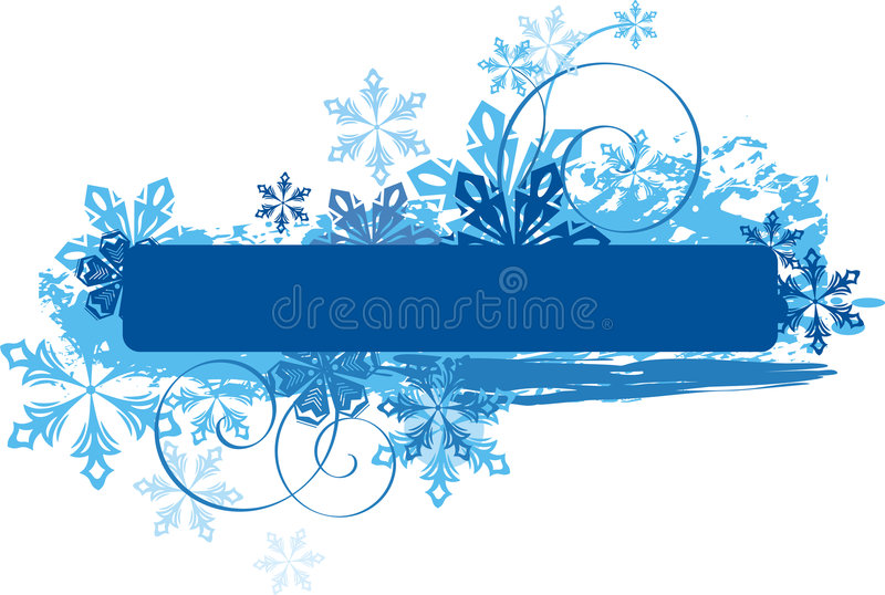 Serie del comitato di inverno illustrazione vettoriale