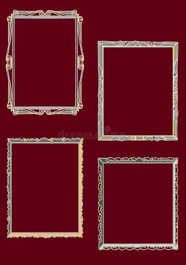 Serie del fondo, marco stock de ilustración