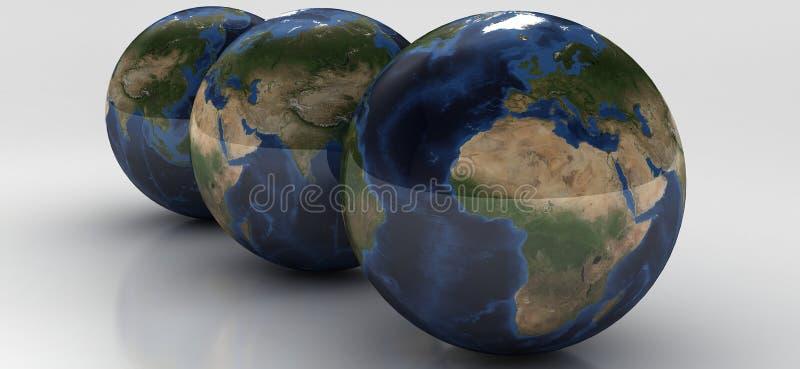 Serie del globo fotos de archivo libres de regalías
