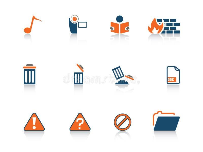Serie del icono del Web libre illustration
