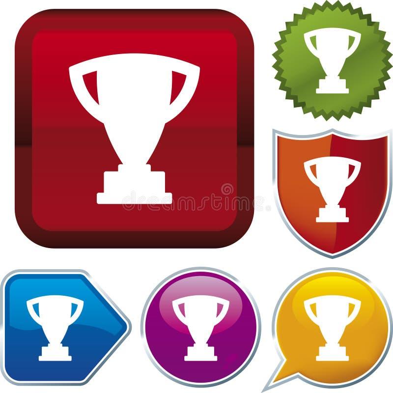Serie del icono: trofeo (vector) libre illustration
