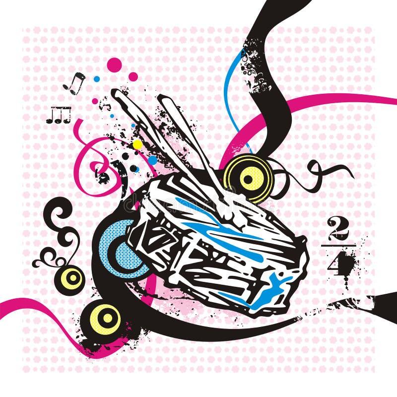 Serie del instrumento de música libre illustration